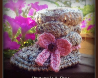 Crochet Baby Slouch Boots