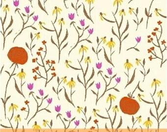 Half Yard Far Far Away - Clover in Orange - Cotton Quilt Fabric - Heather Ross for Windham Fabrics - 39659-7 (W2028)