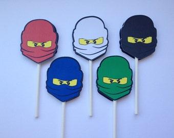 x20 Ninjago Inspired Cupcake Topper