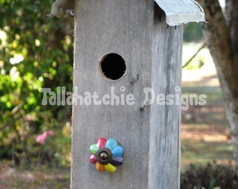 Primitive Birdhouses, Rustic Birdhouses, Tin Roof Birdhouses, Rusty Roof Birdhouses, Barnwood Birdhouses, Wood Birdhouses