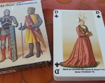 Collectible Medieval Playing Cards