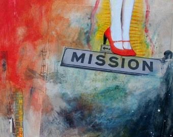 MISSION - 9x12 Print
