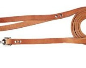 Leather Dog Leash by Miller's Leather Shop