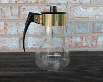 Retro 1960s Starburst Coffee Carafe
