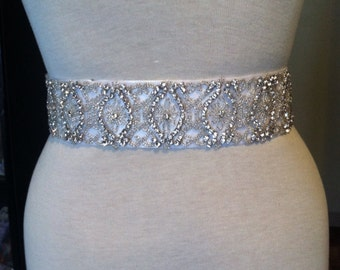 Bridal belt wedding belt bridal sash wedding sash crystal sash crystal belt wedding dress rhinestone sash satin ribbon belt  appliqué