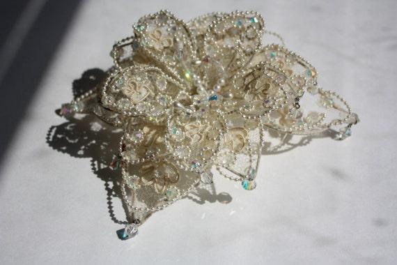 Vintage 1960s Bridal Headpiece