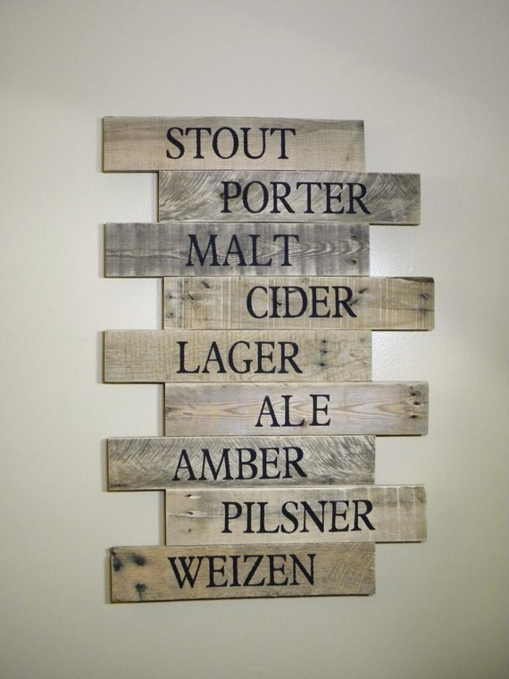 Craft Beer Brewery Pub Sign Brewery Art Craft