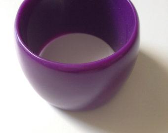 Lovely chunky bracelet violet