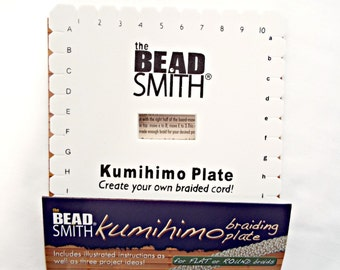 Kumihimo Plate, Braiding Plate, Square Plate, Braiding Supply, Jewelry Tool, Japanese Braiding, Craft Supplies, Kumihimo Jewelry, UK Seller