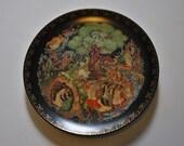 Lukomorya - Vintage collectable china plate - Russian Legends - Bradford Exchange 60-V25-1.4 - Vinogradoff