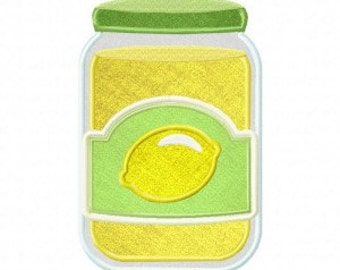 Lemon Marmalade Includes Both Applique and Stitched