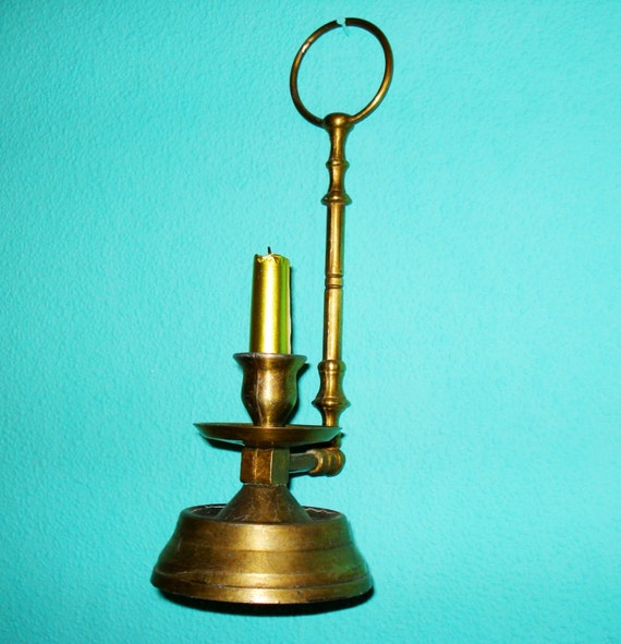 Antique Wall Sconce Candle Holders : Antique Brass Wall Candle Holder Sconce/Solid Brass