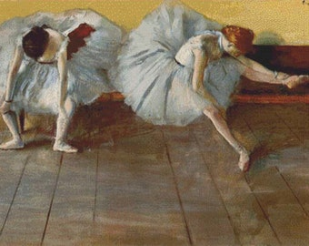 Two Ballet Dancers PDF Cross Stitch Pattern