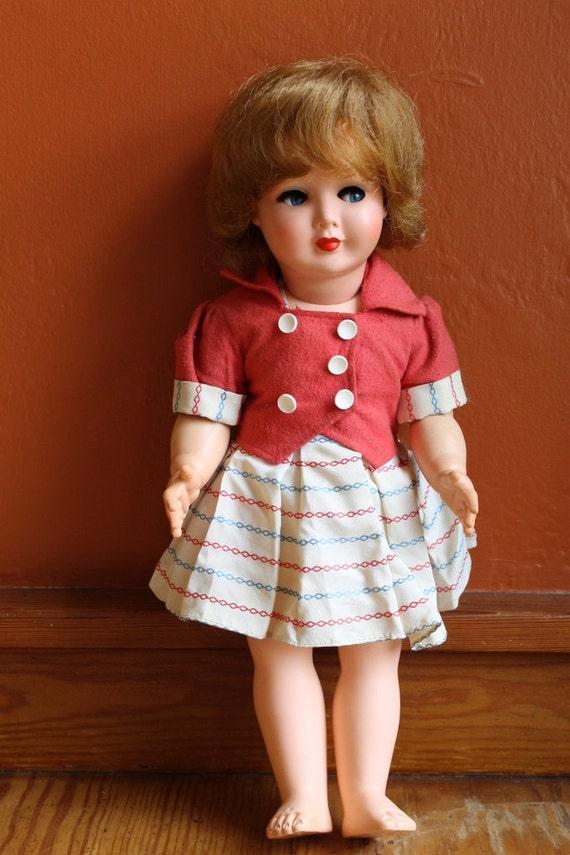 Vintage Dolls 1960 Vintage Doll / 1960's Maar