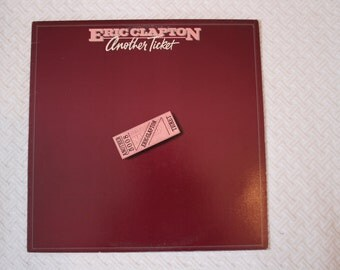 Eric Clapton vinyl record , Another Ticket (1981)