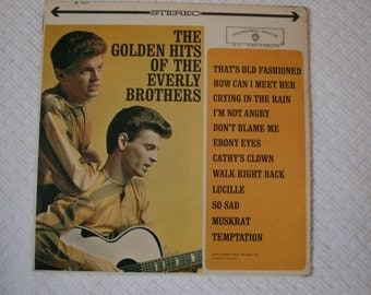 The Golden Hits Of The Everly Brothers, Vinyl Record