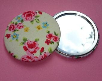 Yellow Flower Pocket Mirror