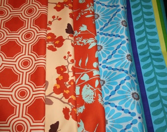 5 FAT QUARTERS  CLEARANCE Great Quality Fabric Cotton /Cushion/ fabric/art Deco/Pillows Special No 2