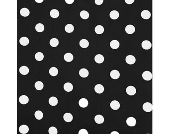 Decorative Cotton Polka Dots Tablecloth