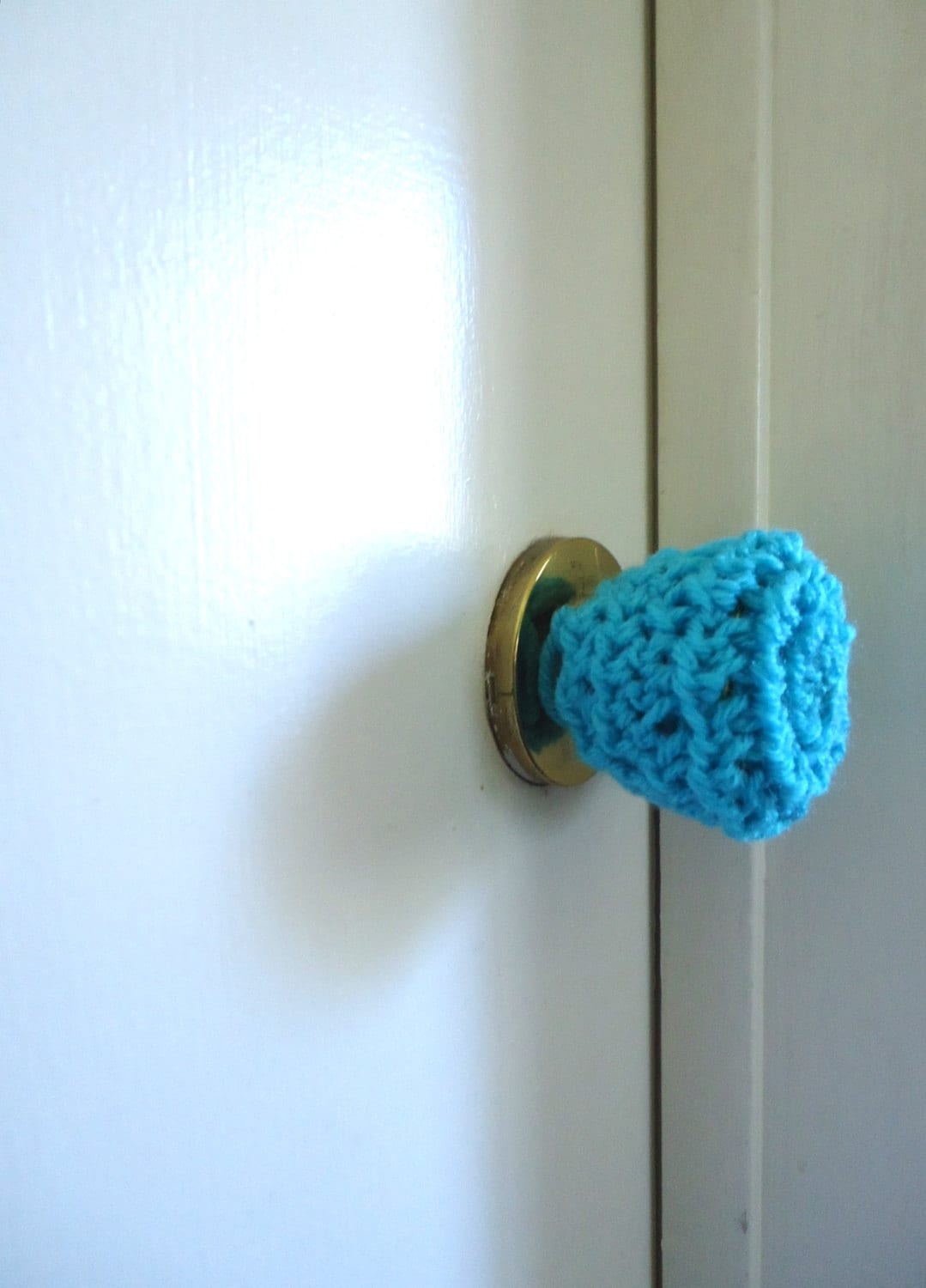 3 crochet door knob cover child safety cover by keishaskreativity. Black Bedroom Furniture Sets. Home Design Ideas