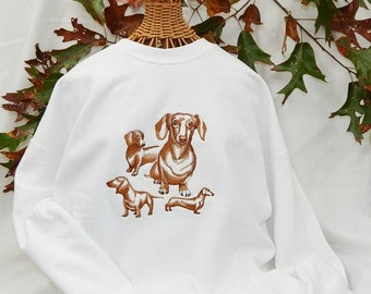 Dachshund Fleece Sweatshirt