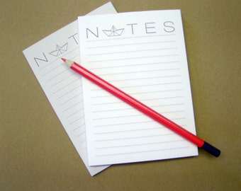 Notepads, memo pad, stationery, pads, bloc, to do list, list, writing pad, office supplies -  - ship