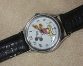Lorus by SEIKO Mickey Mouse classic vintage watch, SS