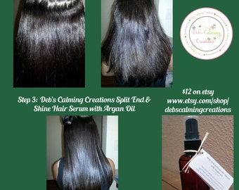 Smooth and Shine Hair Serum w/Argan Oil