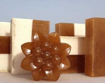 Shea Honey and Milk Bar - Luxury Soap with Argan Oil