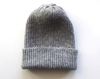 Men's Mid-season beanie hat/gray/dark gray/black/brown/blue