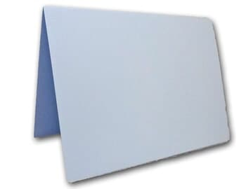 Light Blue Place Cards 25 pack