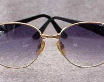 VALENTINO Sunglasses GP Frames V Logo on the Hinges Retro 50's NOS