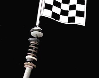 Black & White CHECKERD FLAG ANTENNA ?