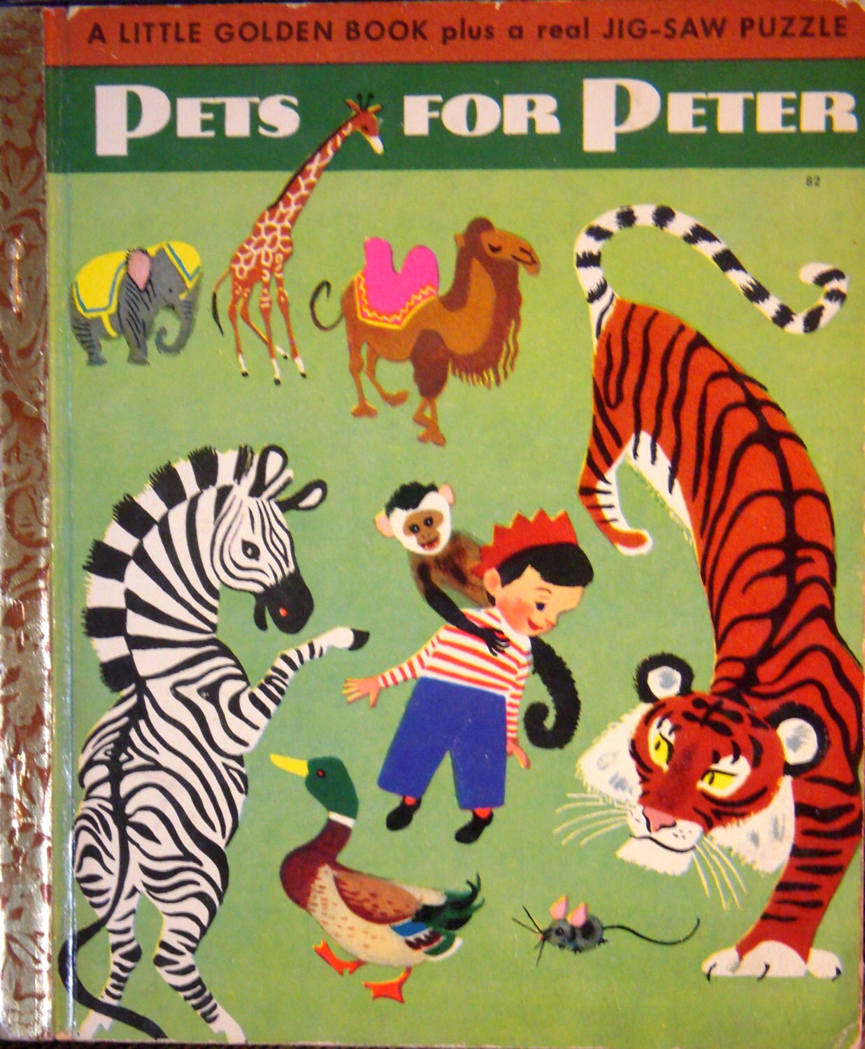 1950 Pets For Peter 82 Little Golden Book By BasketCaseBooks