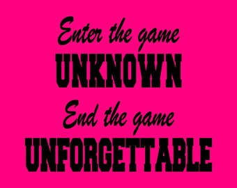 END the game UNFORGETTABLE volleyball shirt