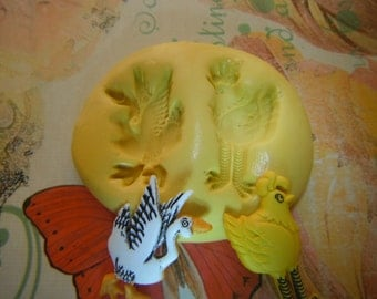 Chicken and Goose Flexible Silicone Mold