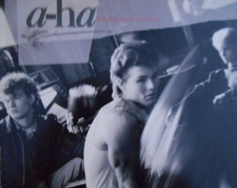 A-Ha - Hunting High and Low- vinyl record