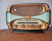 Stunnning french vintage Radio Oceanic  1950s **SALE**  **SALE**