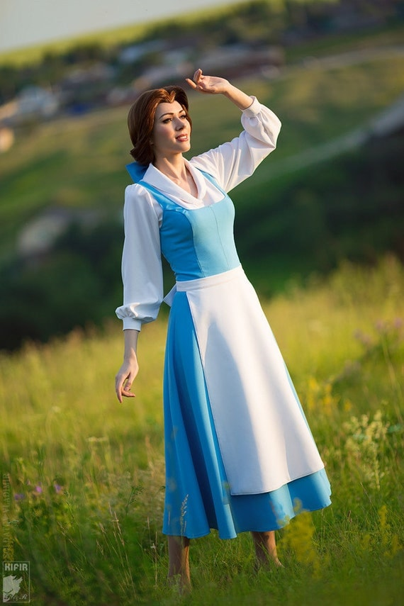Beauty And The Beast Belle Blue Dress