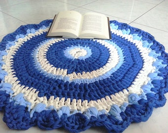 Round rug crochet strap (art. 49)