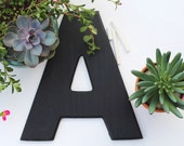 12-inch chalkboard letter, custom made, ANY LETTER, chalkboard sign