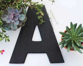 12-inch chalkboard letter, custom made, ANY LETTER, chalkboard sign
