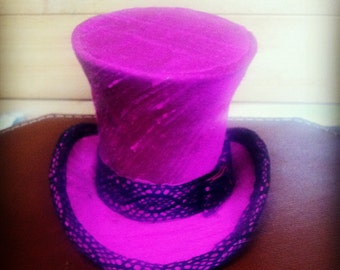 Miniature top hat - handmade