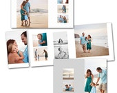 Inspire  4x8 Accordion - Photoshop template download by Photographer Cafe