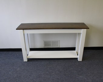 Entry Table / Sofa Table / Foyer table/Media Table