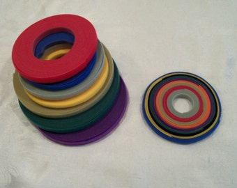 3 Yards Ultra Thin Velcro for Doll Clothes / YOUR CHOICE of COLORS