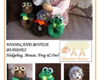 Woodland Bottle Buddies Knitting Pattern