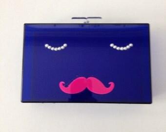Mustache Clutch