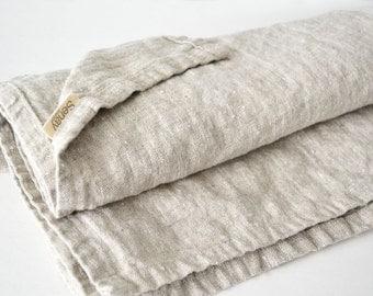 """linen throw blanket 50""""x70"""" soft pure flax linen picnic blanket linen beach blanket sofa blanket. Linen Throw Blanket. Linen Picnic Blanket."""