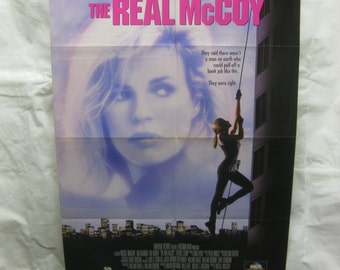The Real McCoy Style A 1993  Movie Poster mp064